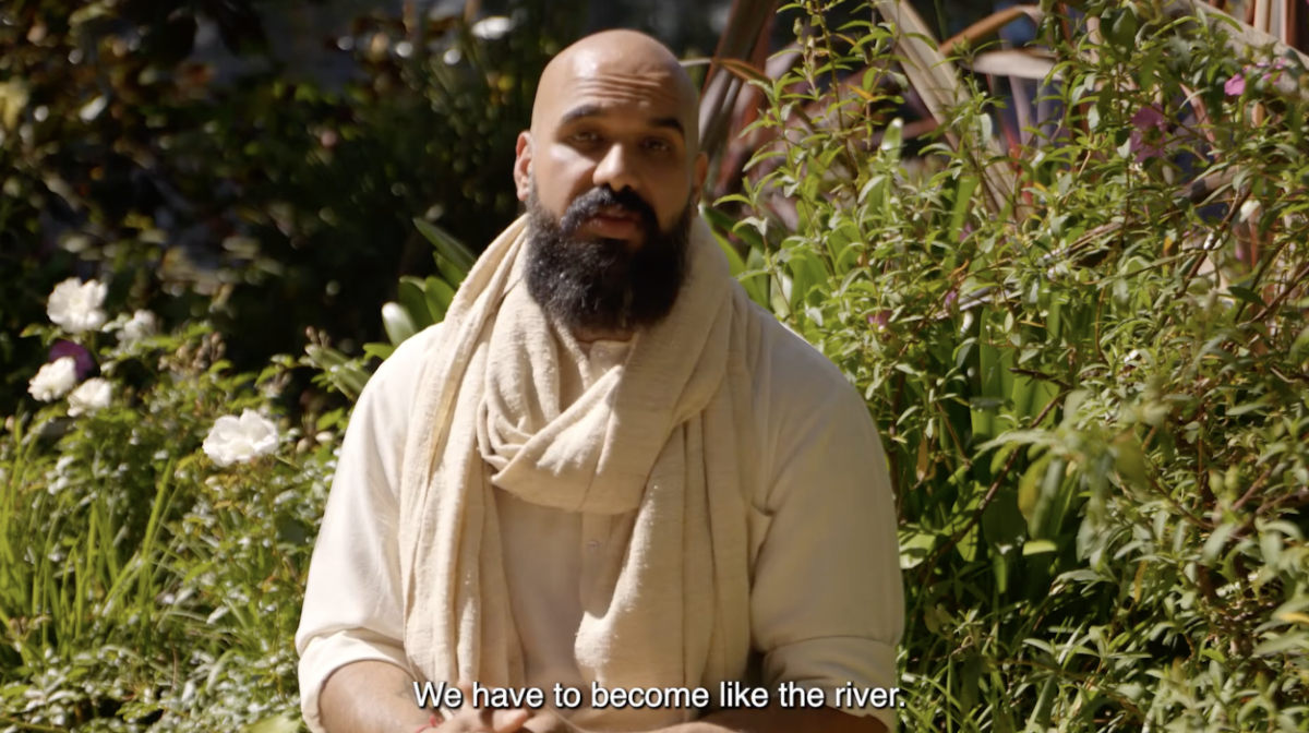 AJ Dahiya | A minute of inspiration | Be like a river